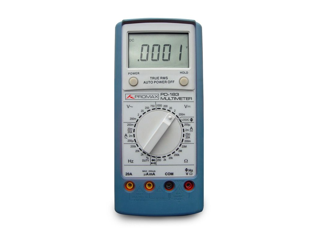 Industrial Series Digital Multimeters