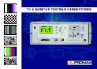 Katalog TV & Monitor Testbild-Generatoren