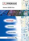 Catálogo de Gama didáctica