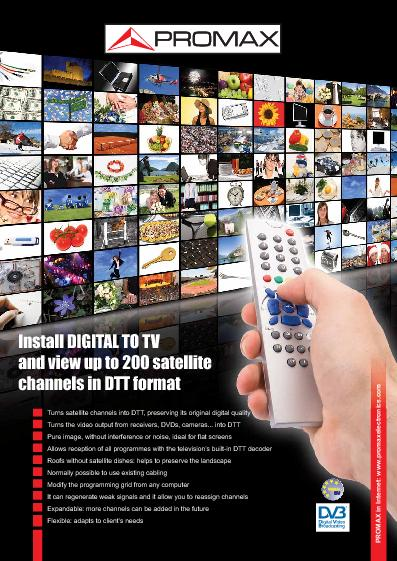 Digital To TV (DTTV)